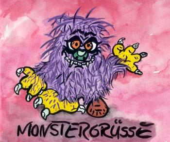 Monstergrüße!