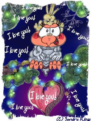 I love you, I love you.....!