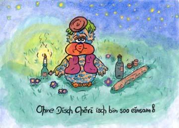 Ohne Disch Chéri ist alles öde