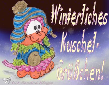 Winterliches Kuschel-Grüßchen!