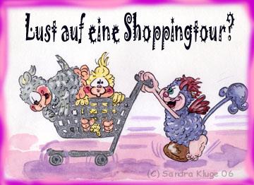 Lust auf eine Shoppingtour?