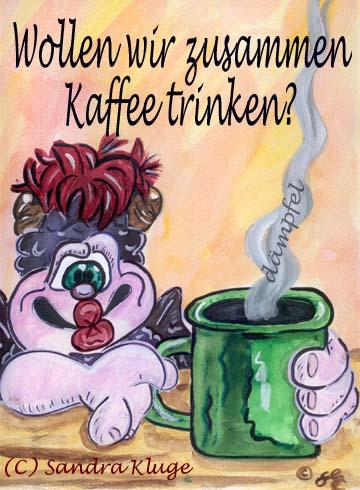 Wollen wir zusammen Kaffee trinken?
