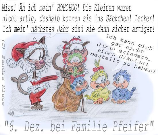 6. Dez. bei Familie Pfeifer!